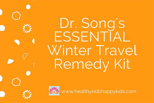 Winter Travel Remedy Kit