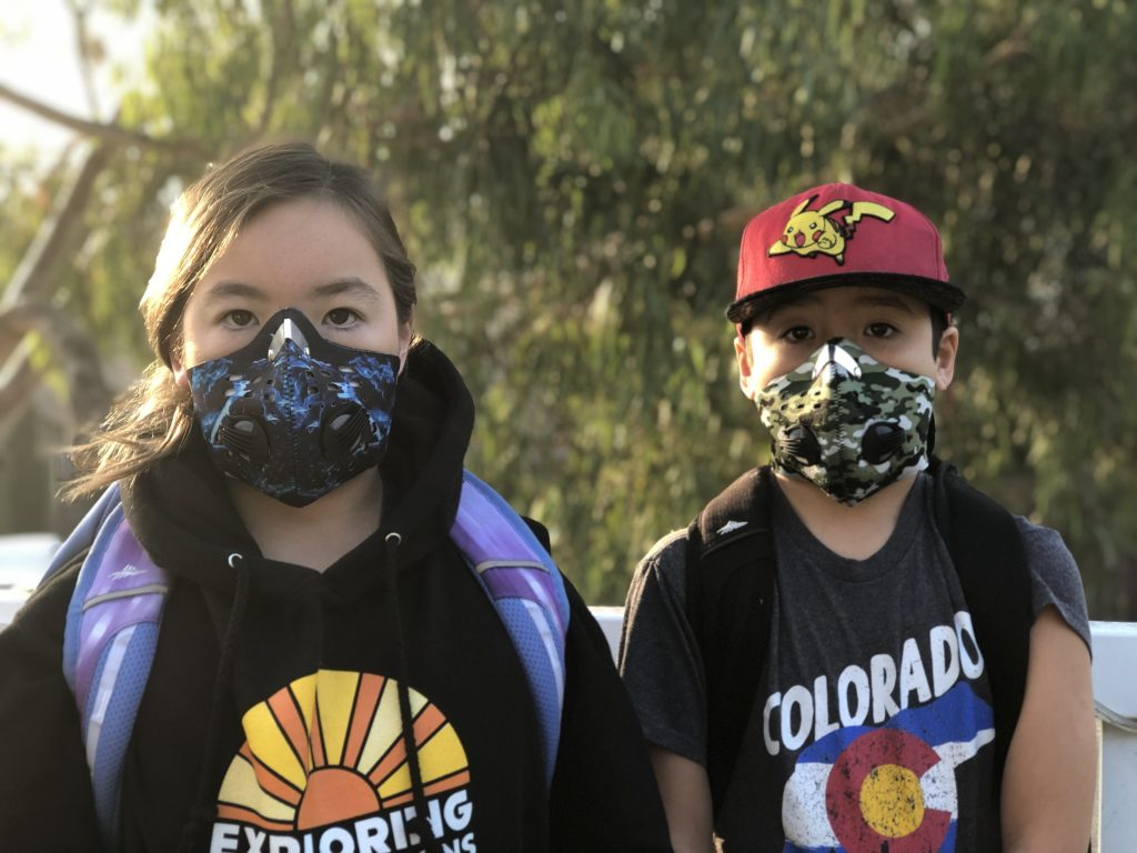 Coronavirus (COVID-19): What You Need to Know by Elisa Song, MD Ped. 2 kids in masks
