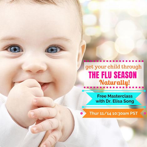 Get Your Child Through the Flu Season ... Naturally!